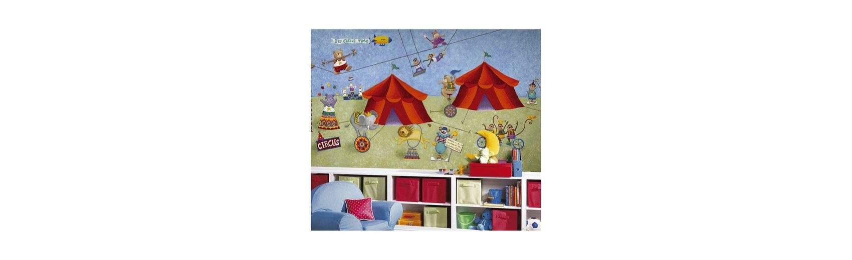 RoomMates Fototapete Zirkus, 320 x 183 cm
