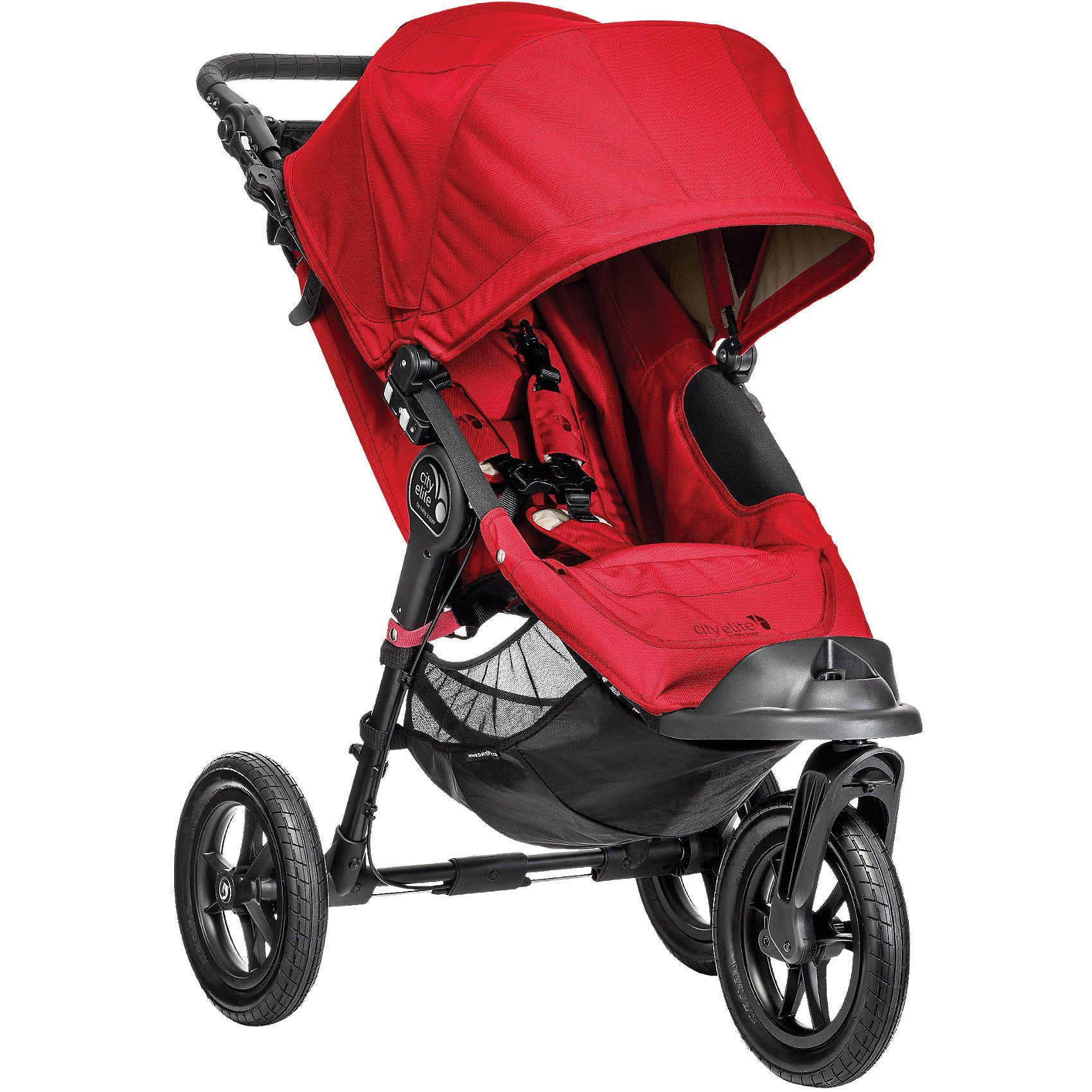 Baby Jogger Jogger City Elite inkl. Park- & Handbremse, red, 2016