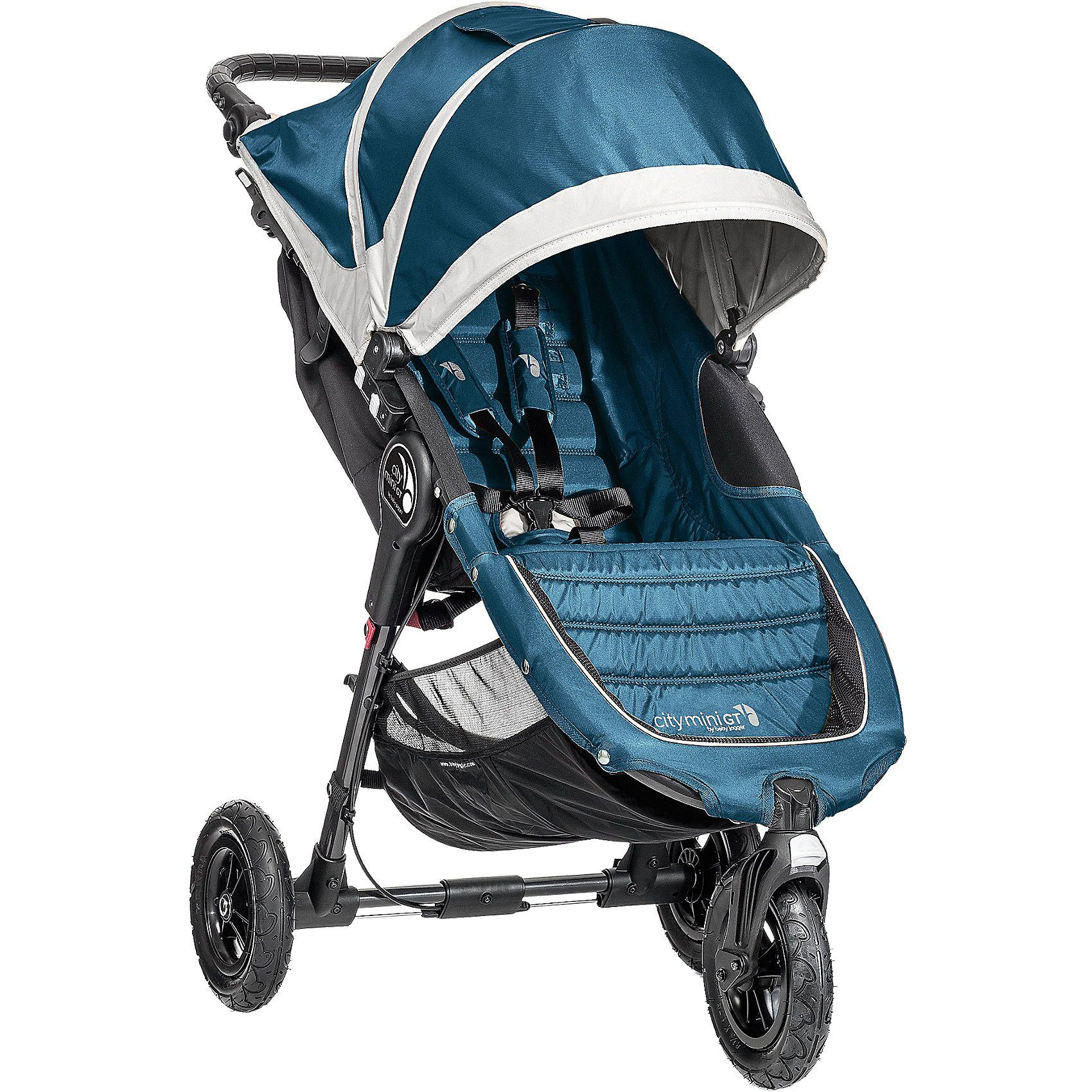 Baby Jogger Jogger City Mini GT, teal/ gray, 2016