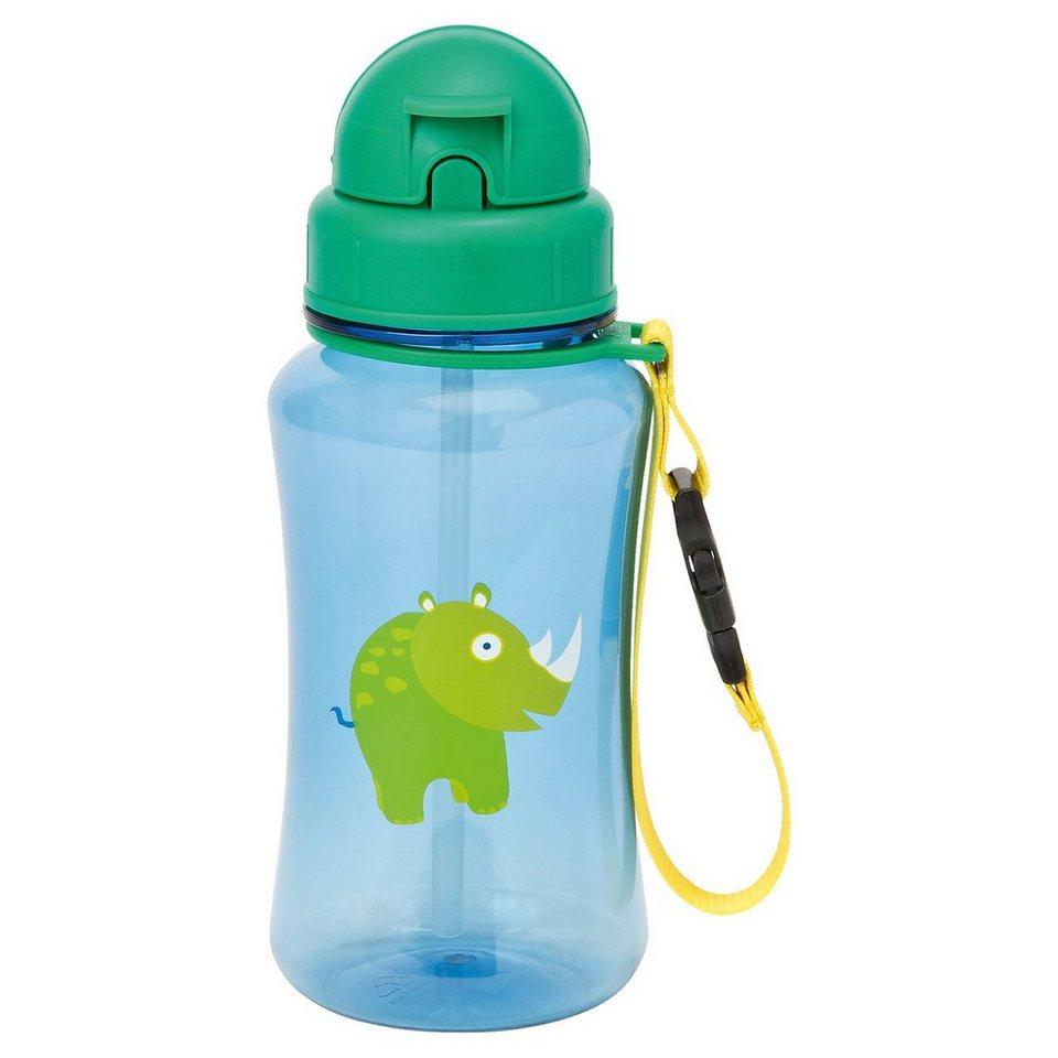 Lässig Trinkflasche, 4Kids, Wildlife, Rhino