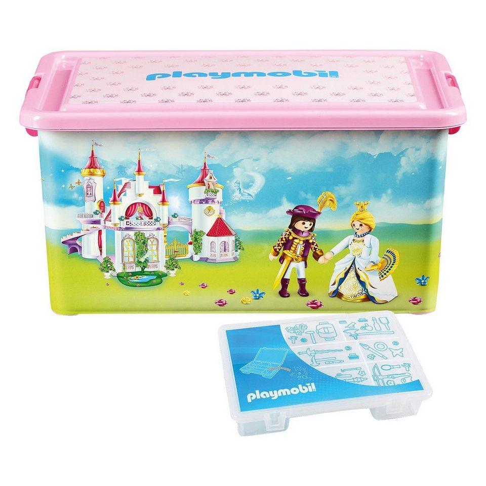 ProType Aufbewahrungsbox XL Prinzessinnen in rosa