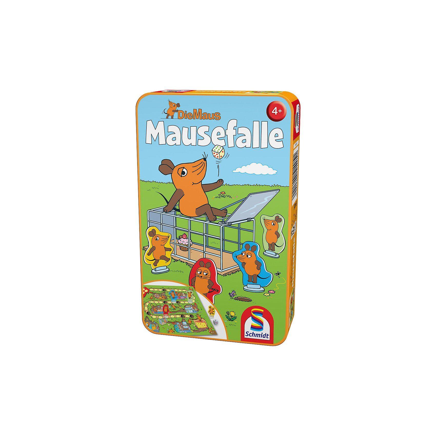 Schmidt Spiele Mitbringspiel Die Maus, Mausefalle