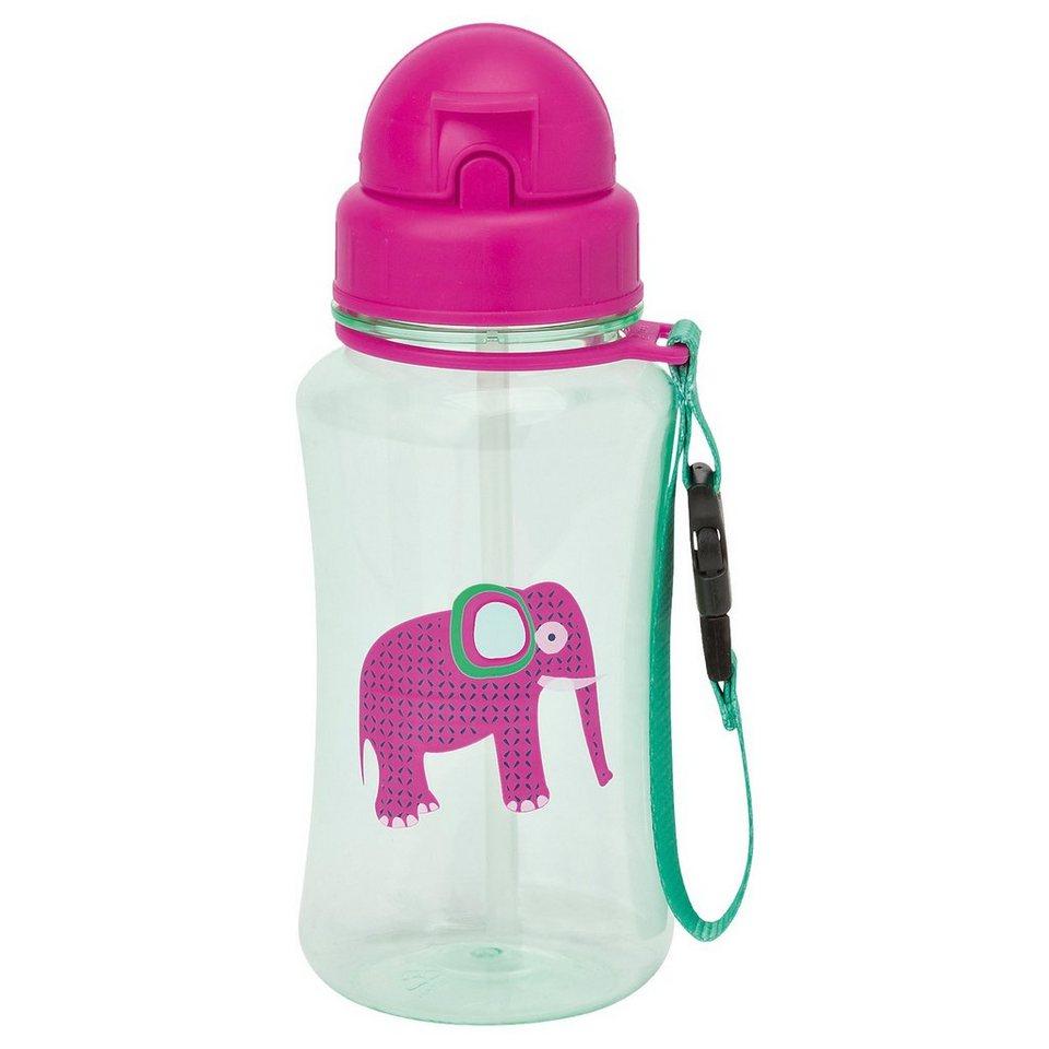 Lässig Trinkflasche, 4Kids, Wildlife, Elephant