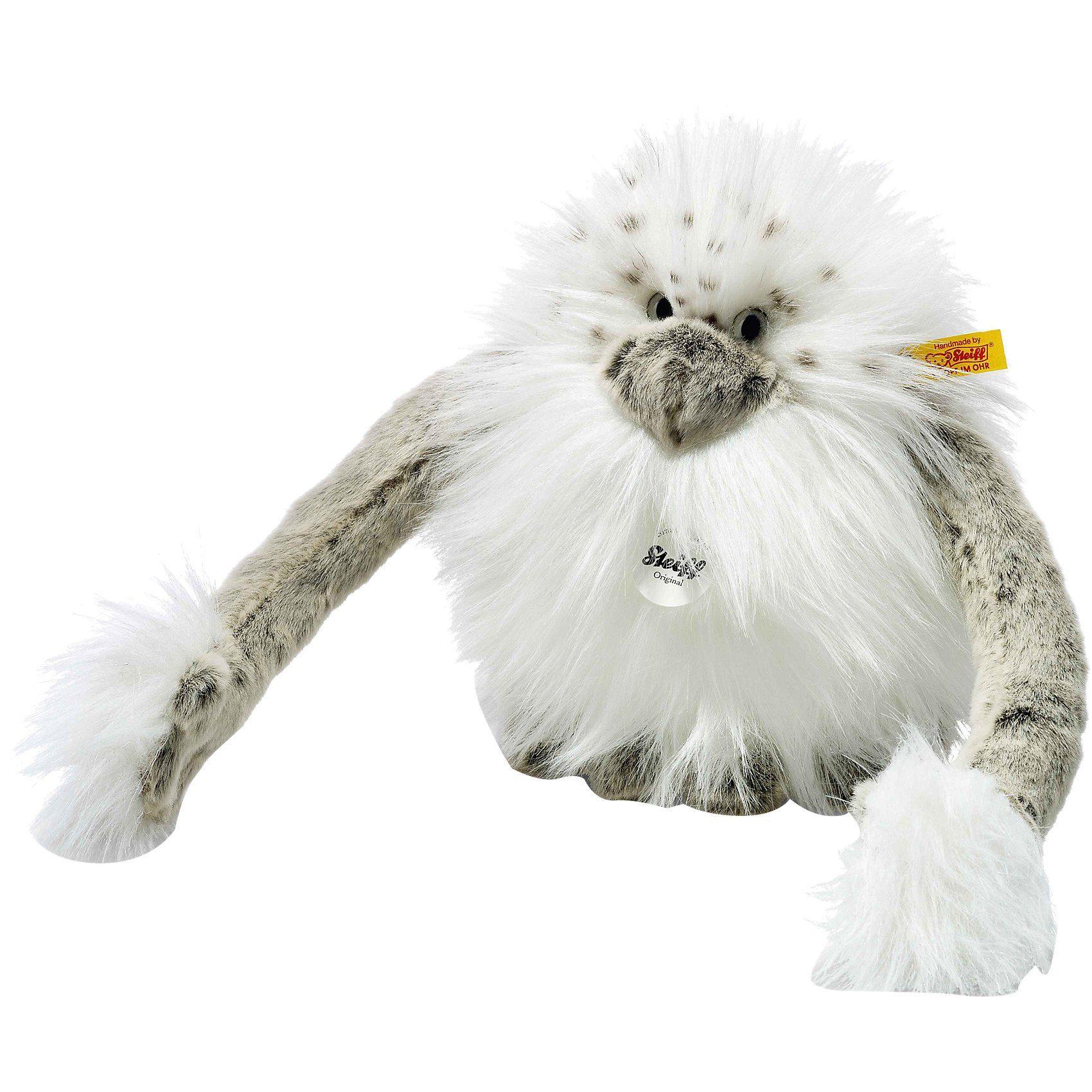 Steiff Nrommi Yeti 20 cm, weiss/grau stehend