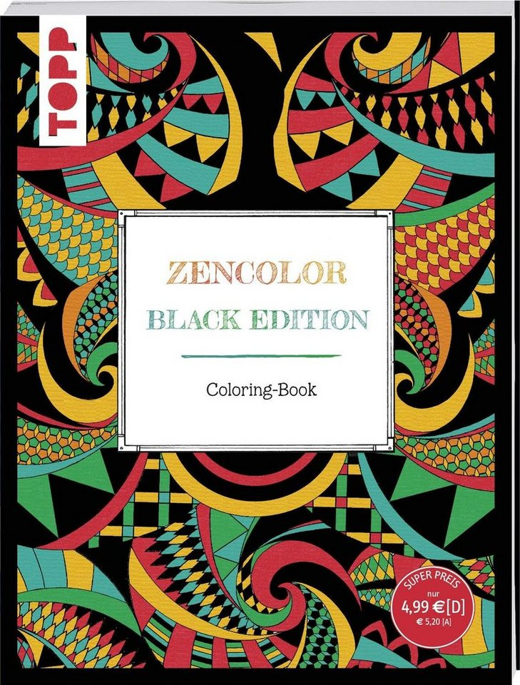 "Topp Buch ""Zencolor Black Edition"""