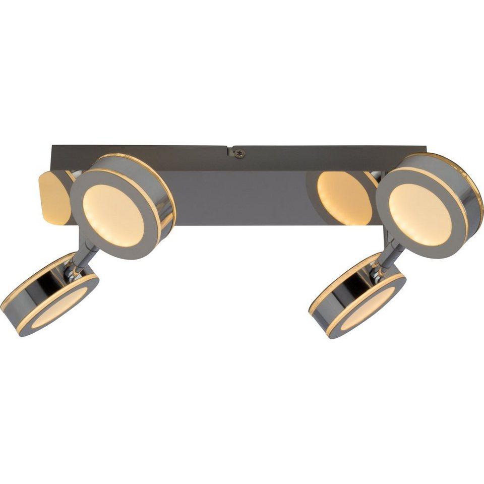 Brilliant Leuchten Movable LED Deckenleuchte, 4-flammig chrom in chrom