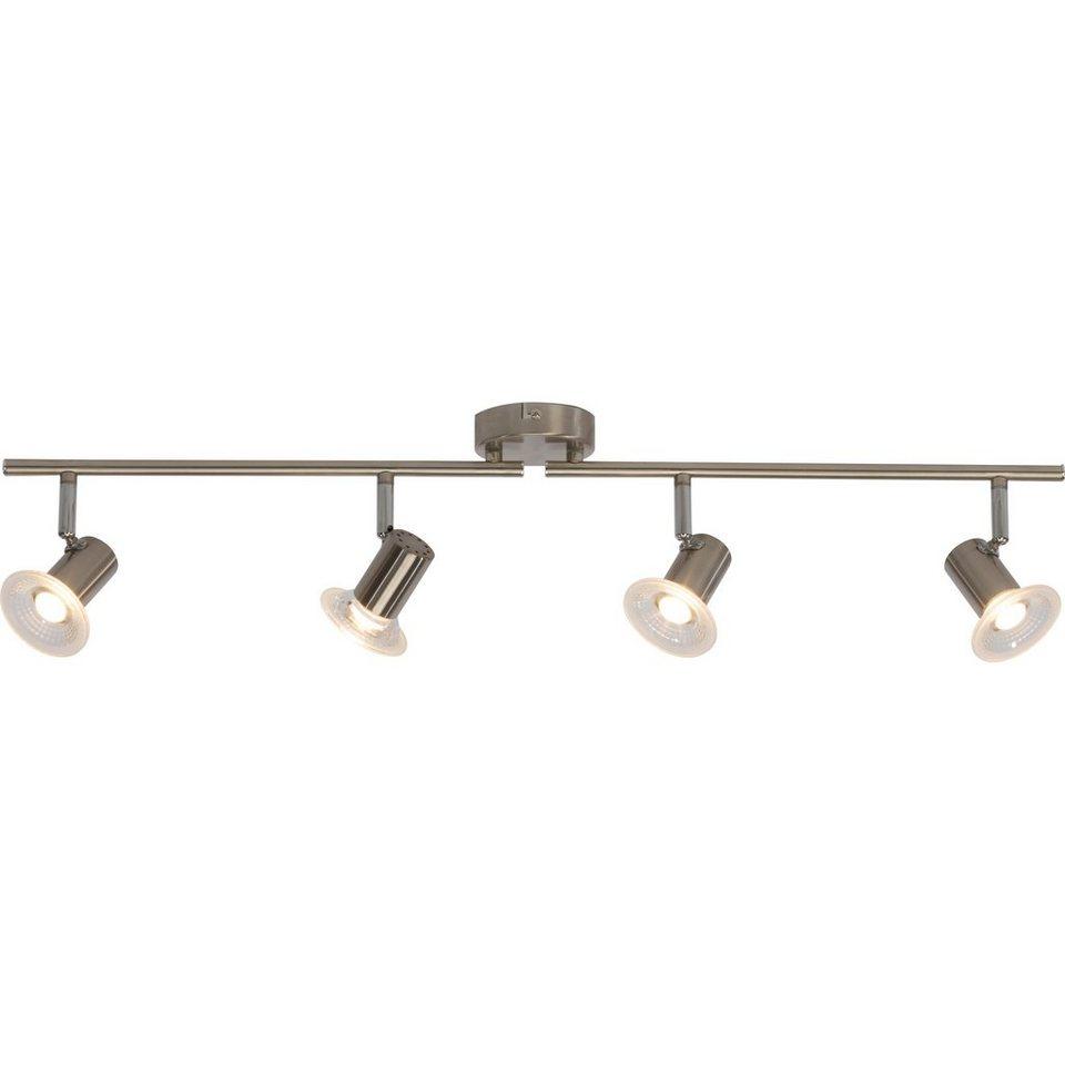 Brilliant Leuchten Walk LED Spotrohr, 4-flammig eisen in eisen
