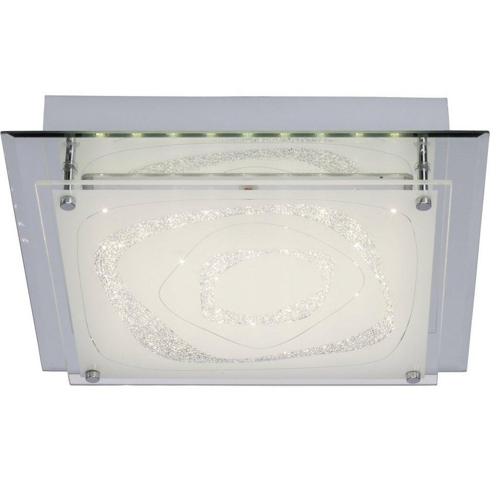 Brilliant Leuchten Fantasie LED Wand- und Deckenleuchte 12W spiegel/chrom in spiegel/chrom