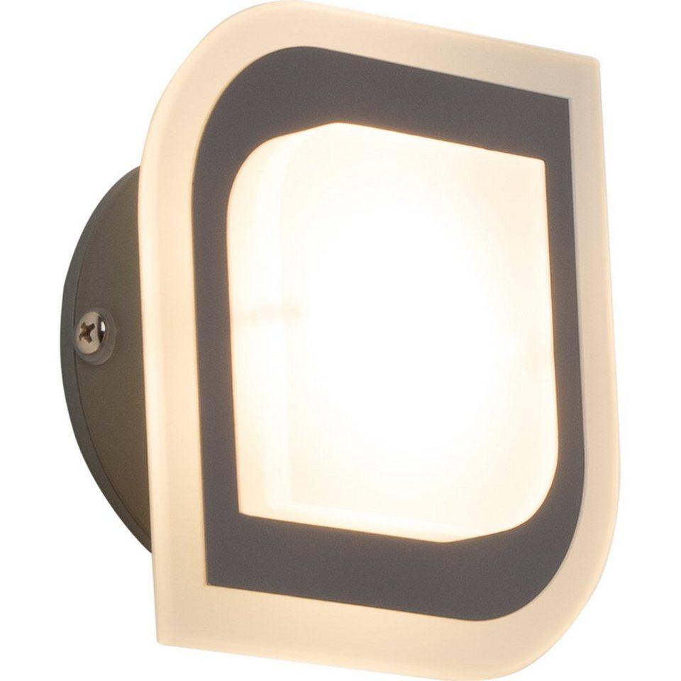 Brilliant Leuchten Formular LED Wandleuchte, 1-flammig chrom IP44 in chrom