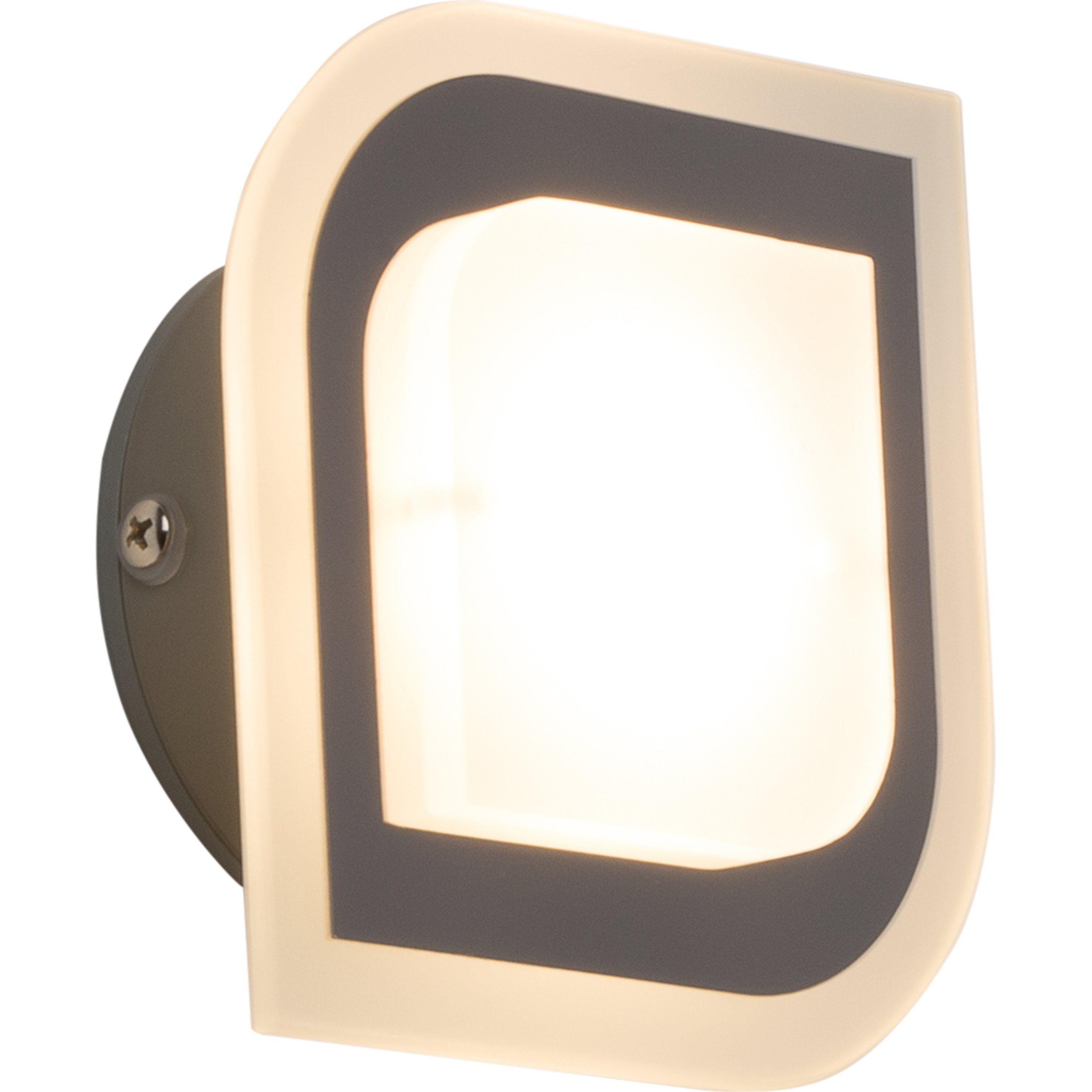 Brilliant Leuchten Formular LED Wandleuchte, 1-flammig chrom IP44