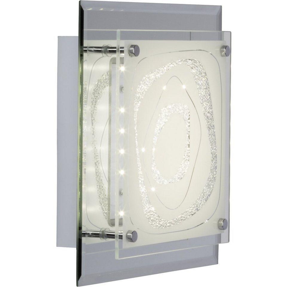 Brilliant Leuchten Fantasie LED Wand- und Deckenleuchte 8W spiegel/chrom in spiegel/chrom