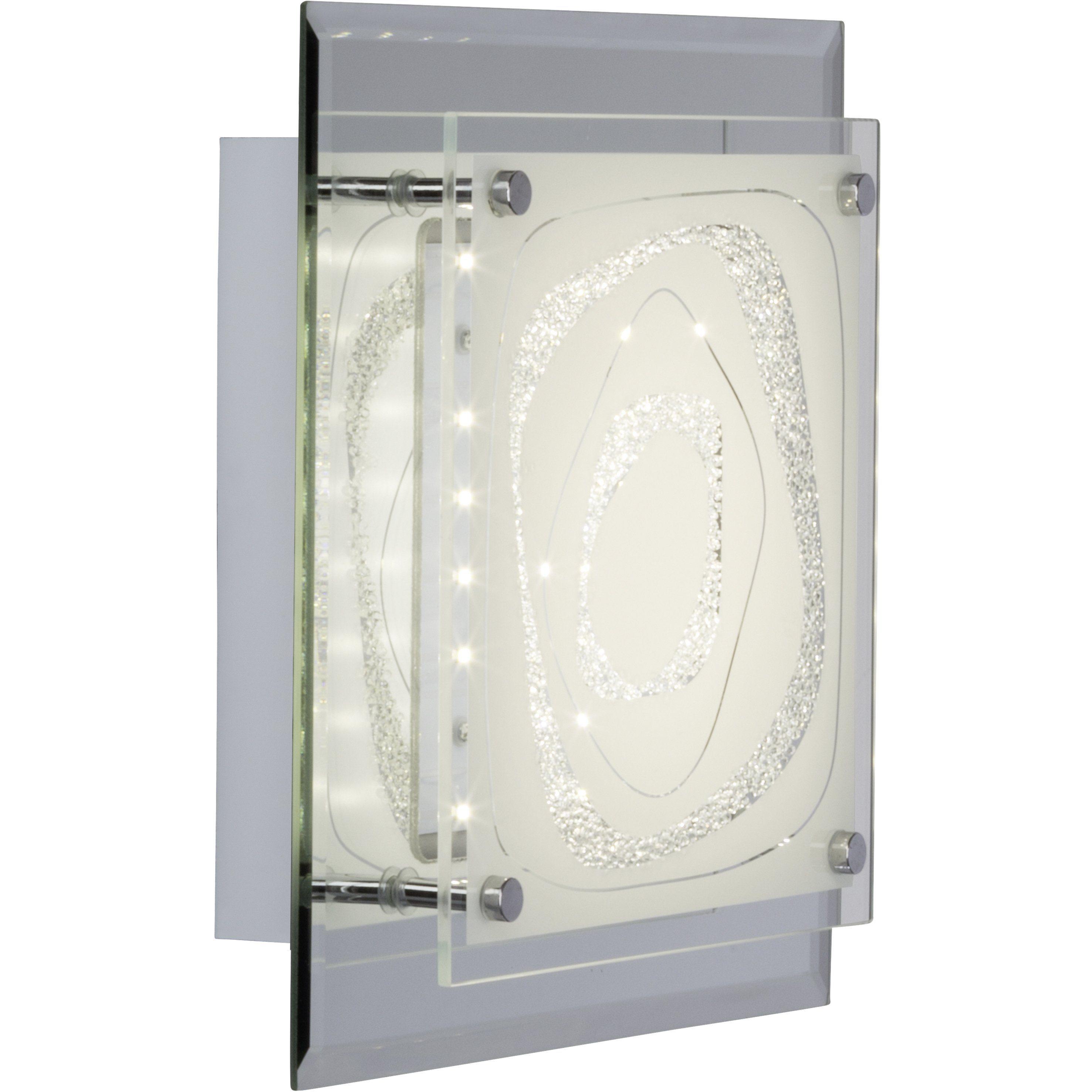 Brilliant Leuchten Fantasie LED Wand- und Deckenleuchte 8W spiegel/chrom