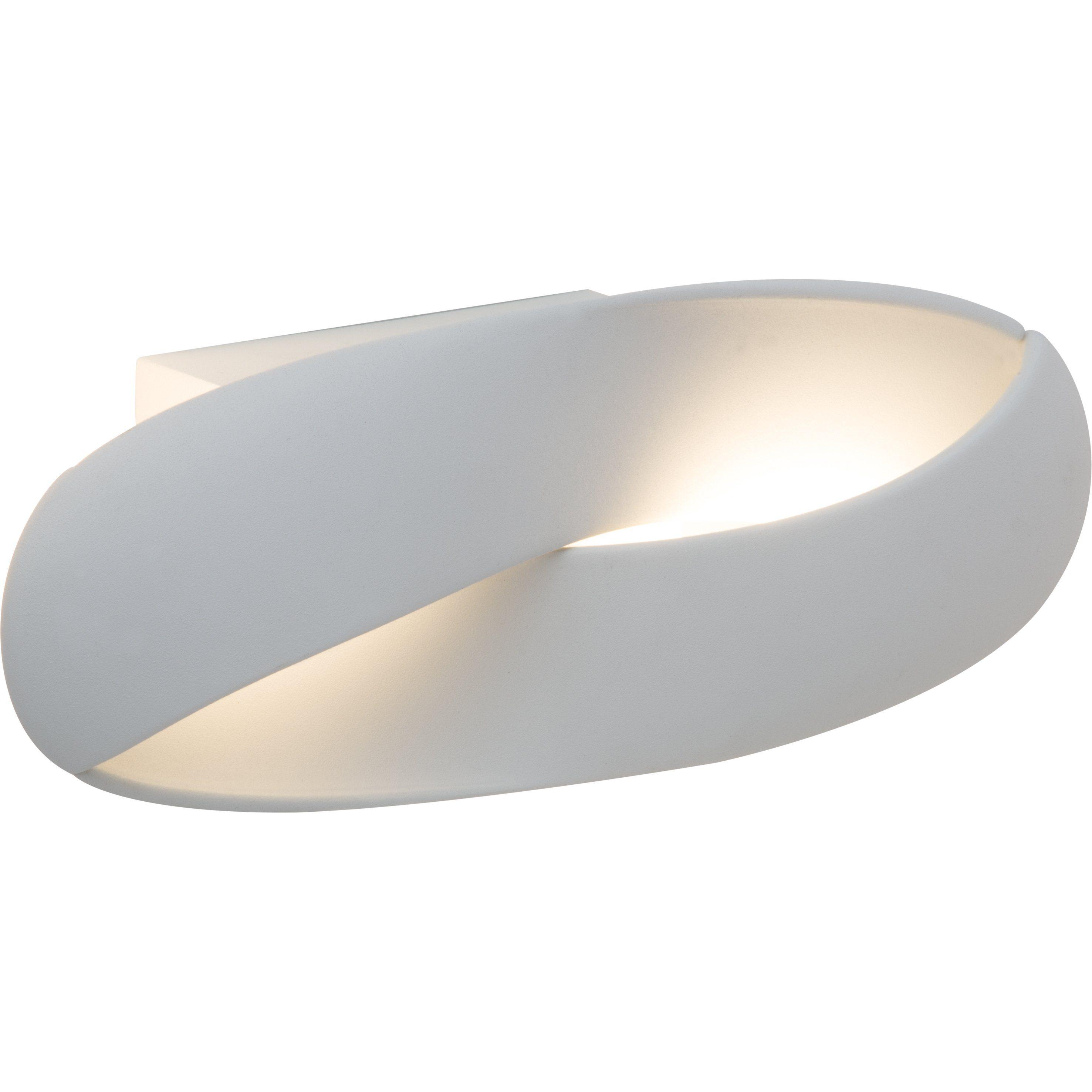 Brilliant Leuchten Soft LED Wandleuchte weiß