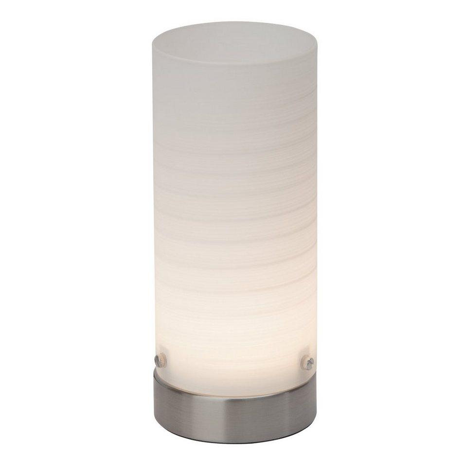 Brilliant Leuchten Daisy LED Tischleuchte eisen/weiß in eisen/weiß