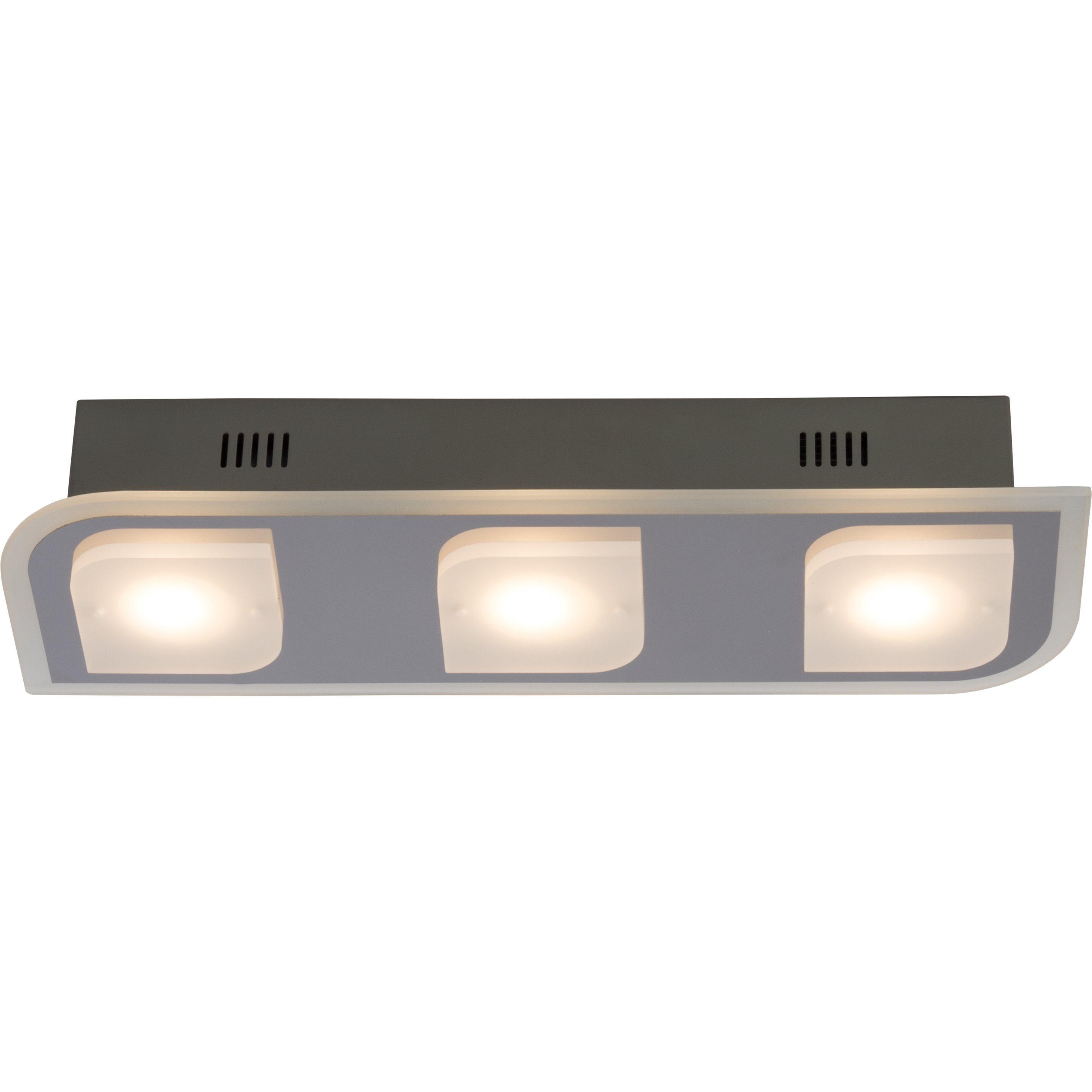 Brilliant Leuchten Formular LED Deckenleuchte, 3-flammig chrom IP44