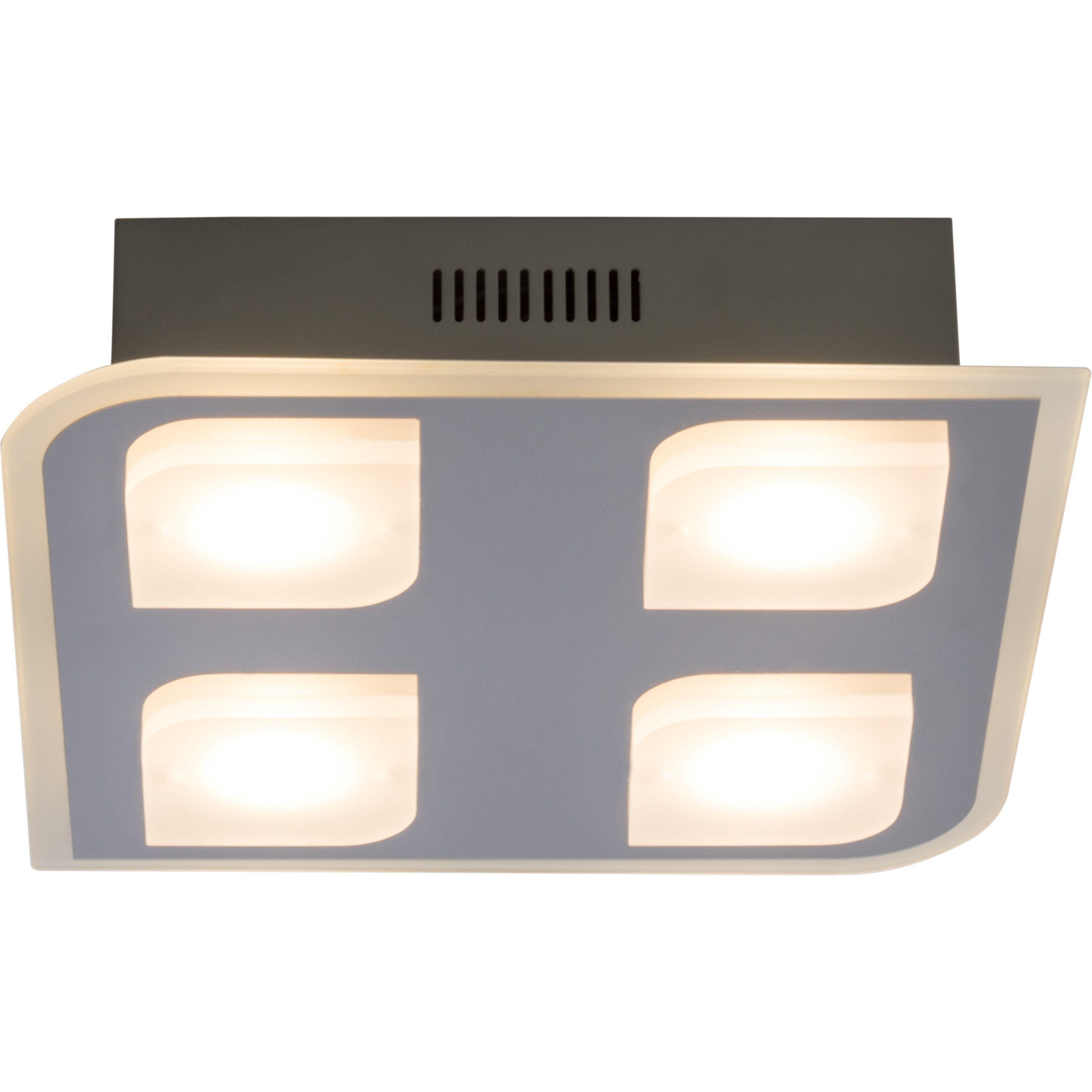 Brilliant Leuchten Formular LED Deckenleuchte, 4-flammig chrom IP44