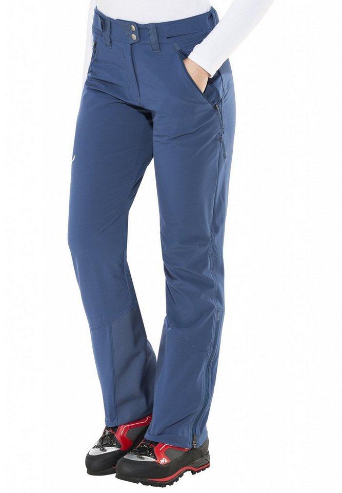 Salewa Outdoorhose »Sesvenna Freak DST Pant Women« in blau