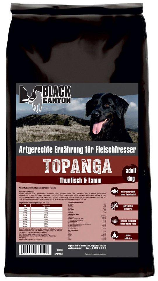 Hundetrockenfutter »Topanga Thunfisch & Lamm«, 15 kg in braun