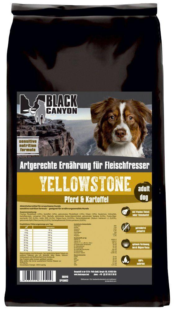 Black Canyon Hundetrockenfutter »Yellowstone Pferd & Kartoffel«, 5 kg