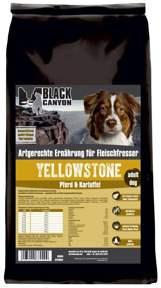 Hundetrockenfutter »Yellowstone Pferd & Kartoffel«, 15 kg