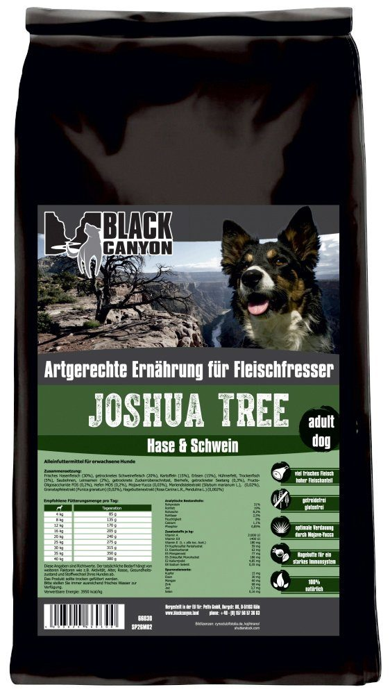 Black Canyon Hundetrockenfutter »Joshua Tree Hase & Schwein«, 1,5 kg