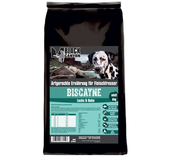 Hundetrockenfutter »Biscayne Huhn & Lachs«, 15 kg