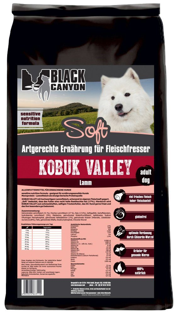 Black Canyon Hundetrockenfutter »Kobuk Valley Soft Lamm«, 1,5 kg