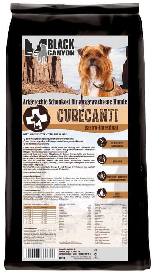 Hundetrockenfutter »Curecanti Gastro Intestinal Fisch & Reis«, 1,2 kg in braun