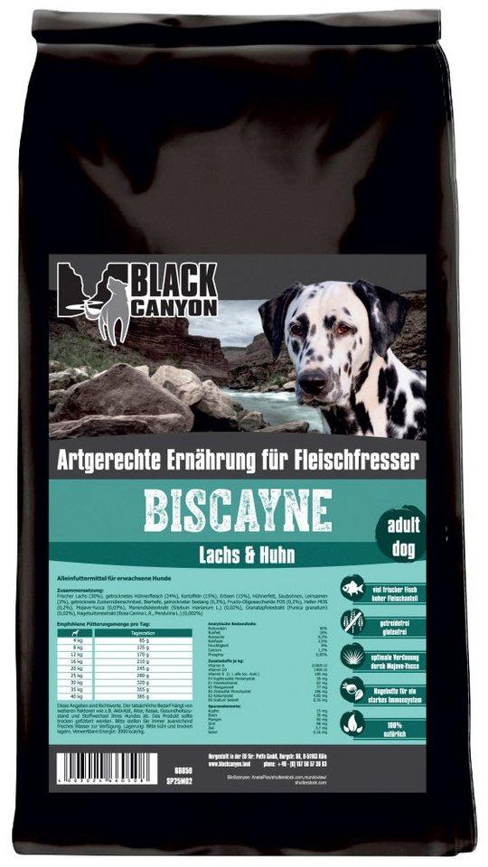 Hundetrockenfutter »Biscayne Huhn & Lachs«, 5 kg in braun