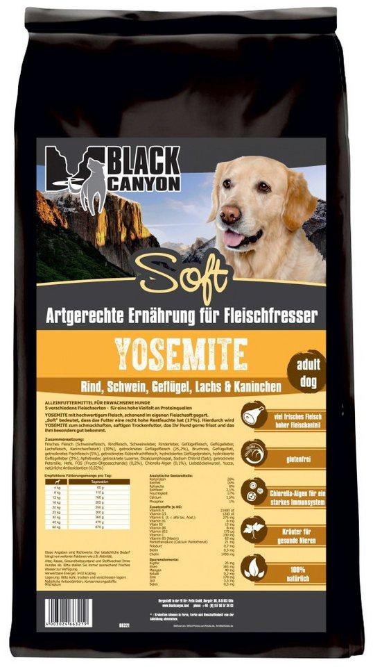 Hundetrockenfutter »Yosemite Soft 5 Sorten Fleisch«, 1,5 kg in braun