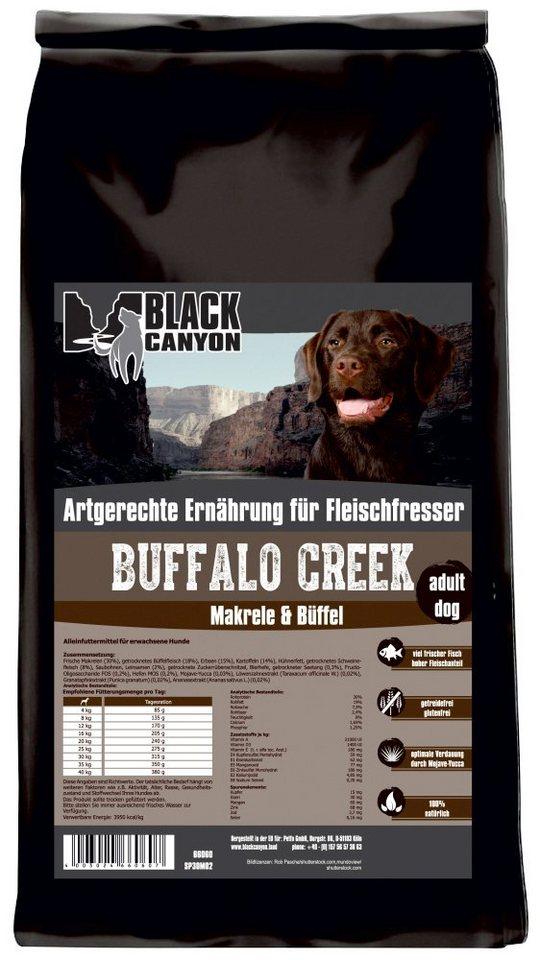 Hundetrockenfutter »Buffalo Creek Büffel & Makrele«, 5 kg in braun