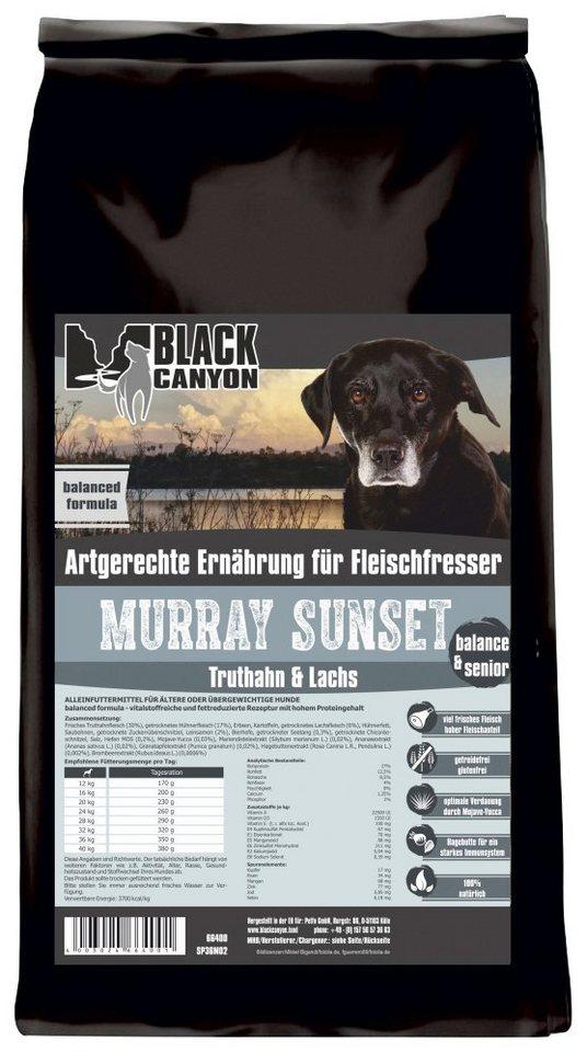 Hundetrockenfutter »Murray Sunset Truthahn & Lachs«, 15 kg in braun
