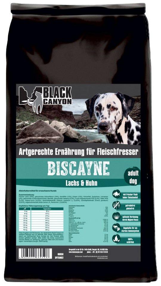 Hundetrockenfutter »Biscayne Huhn & Lachs«, 1,5 kg in braun