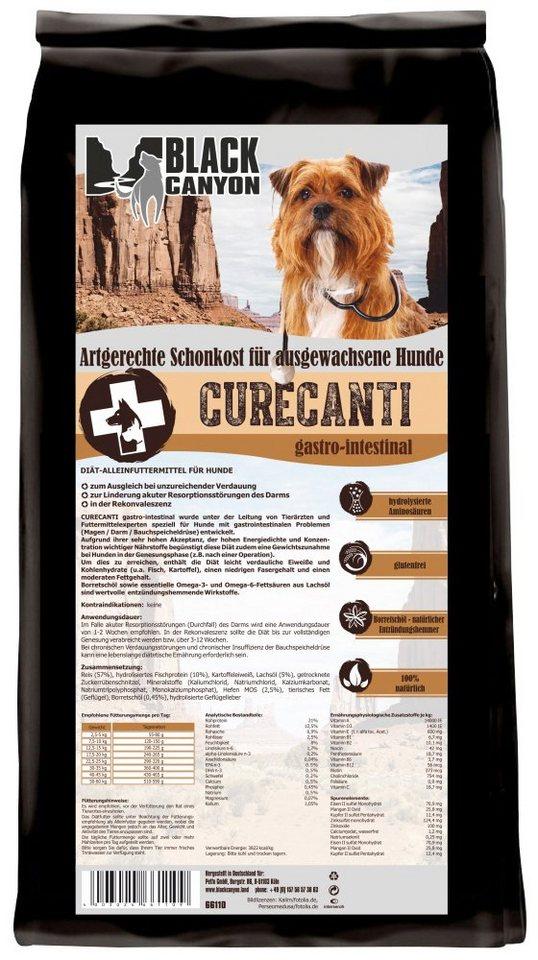 Hundetrockenfutter »Curecanti Gastro Intestinal Fisch & Reis«, 12 kg in braun