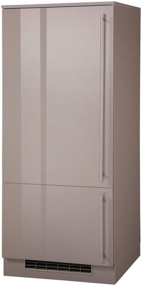 Kühlumbauschrank »Chicago, Höhe 145 cm« in trüffelfarben