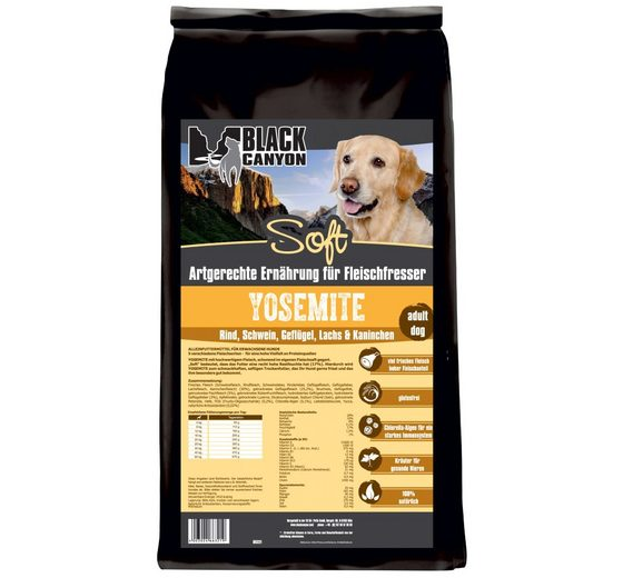 Hundetrockenfutter »Yosemite Soft 5 Sorten Fleisch«, 5 kg