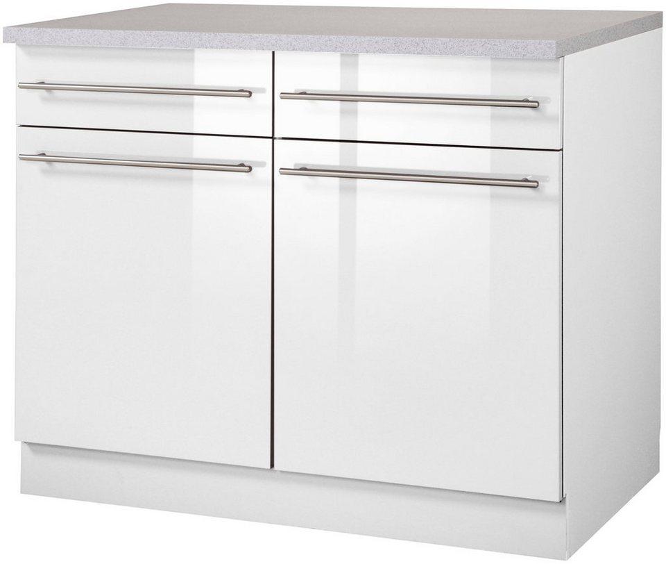 Wiho Küchen Küchenunterschrank »Chicago, Breite 100 cm« online ...