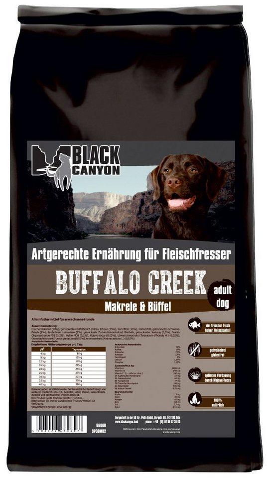 Hundetrockenfutter »Buffalo Creek Büffel & Makrele«, 1,5 kg in braun