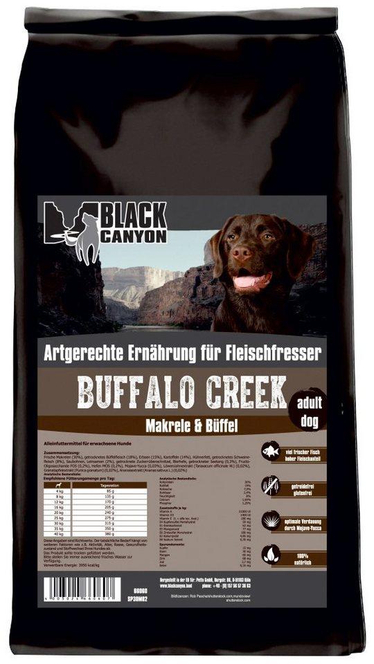 Hundetrockenfutter »Buffalo Creek Büffel & Makrele«, 15 kg in braun