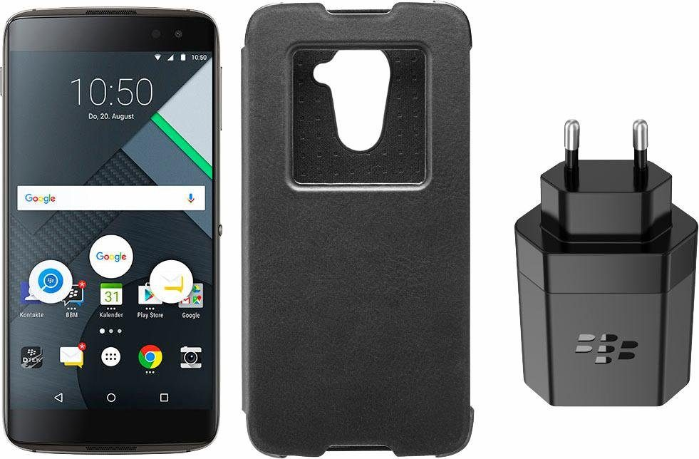 Blackberry DTEK 60 Smartphone, 13,9 cm (5,5 Zoll) Display, LTE (4G), Android, 21 Megapixel, NFC
