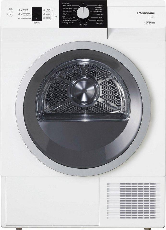 Panasonic Trockner NH-P8ER1WDE, A+++, 8 kg in weiß
