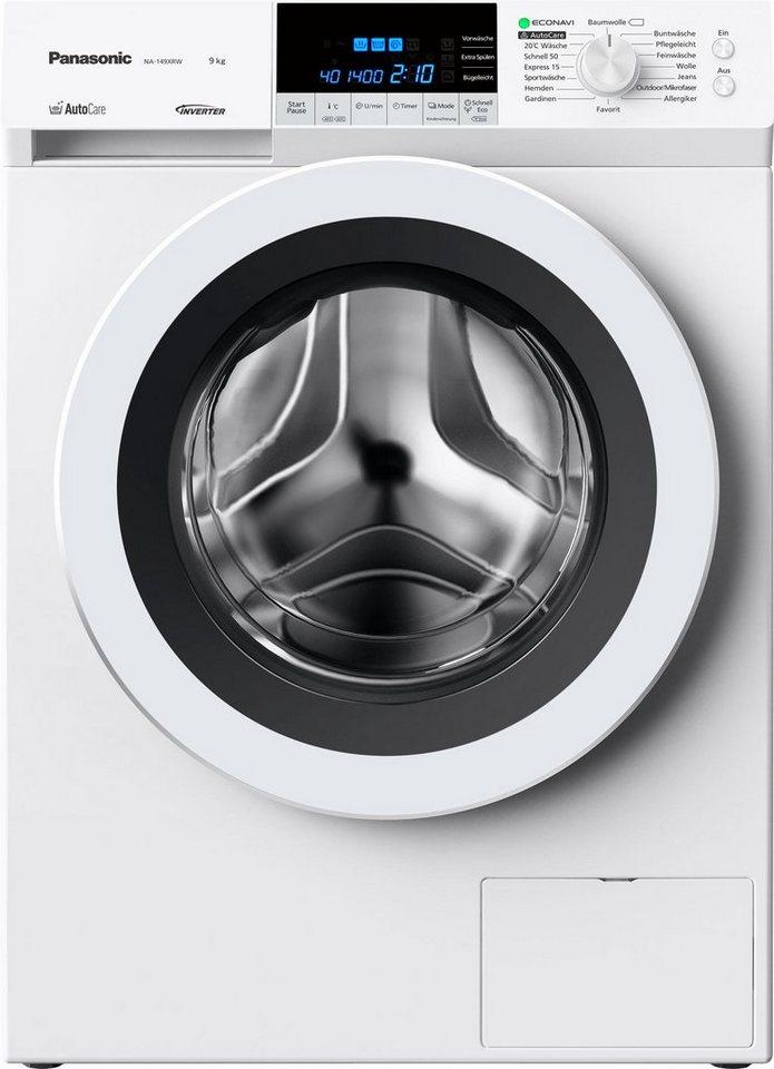 Panasonic Waschmaschine NA-149XRW, A+++, 9 kg, 1400 U/Min in weiß