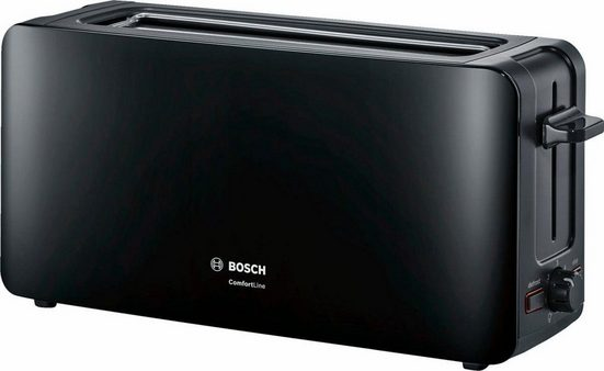 BOSCH Toaster ComfortLine TAT6A003, 1 langer Schlitz, 915 W
