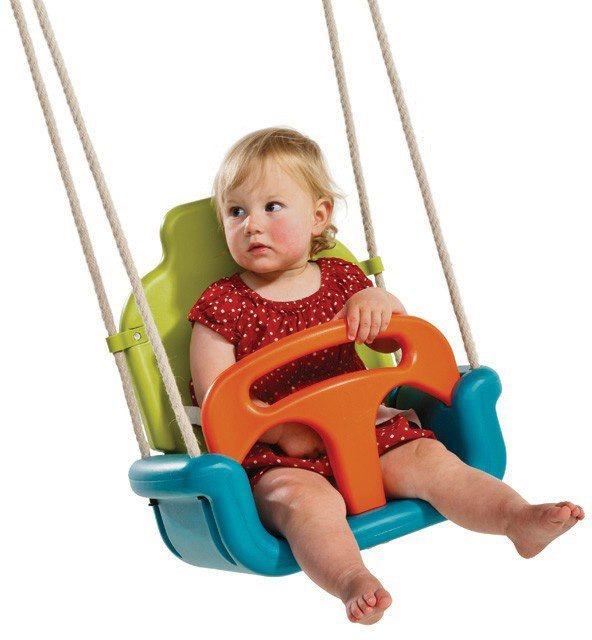 Dein Spielplatz Mitwachsender Babyschaukelsitz in türkis