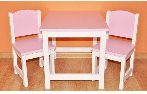 Dein Spielplatz Kindersitzgruppe, rosa weiß, »Danny«