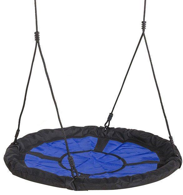 Dein Spielplatz Nestschaukelsitz, blau schwarz, »Swibee« in blau-schwarz