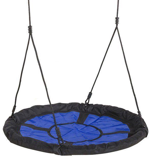 Dein Spielplatz Nestschaukelsitz, blau schwarz, »Swibee«