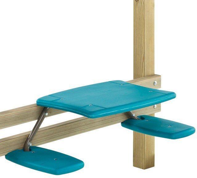 Dein Spielplatz Anbau Picknicktisch in türkis