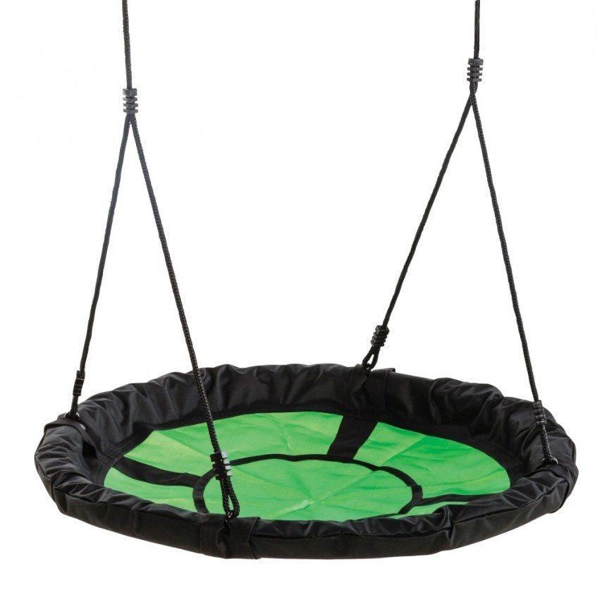 Dein Spielplatz Nestschaukelsitz, grün schwarz, »Swibee« in grün schwarz