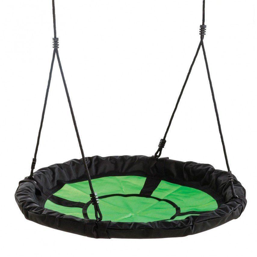Dein Spielplatz Nestschaukelsitz, grün schwarz, »Swibee«